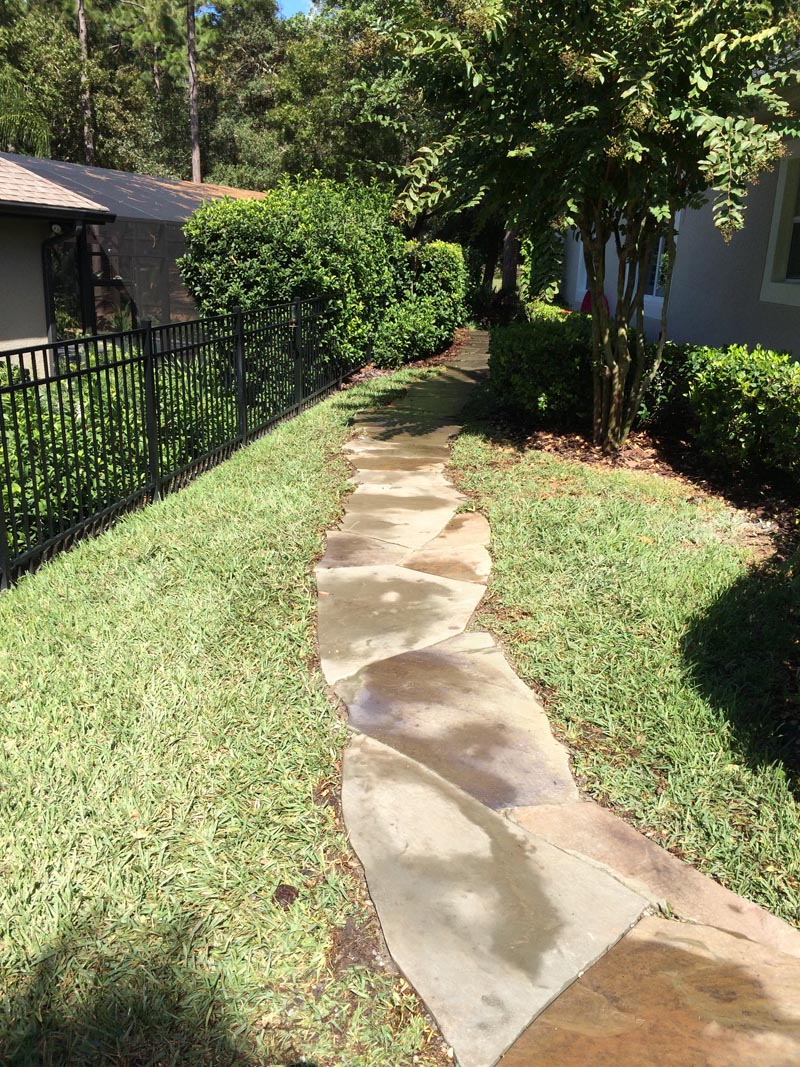 orlando driveway walkway and patio installation the landscape