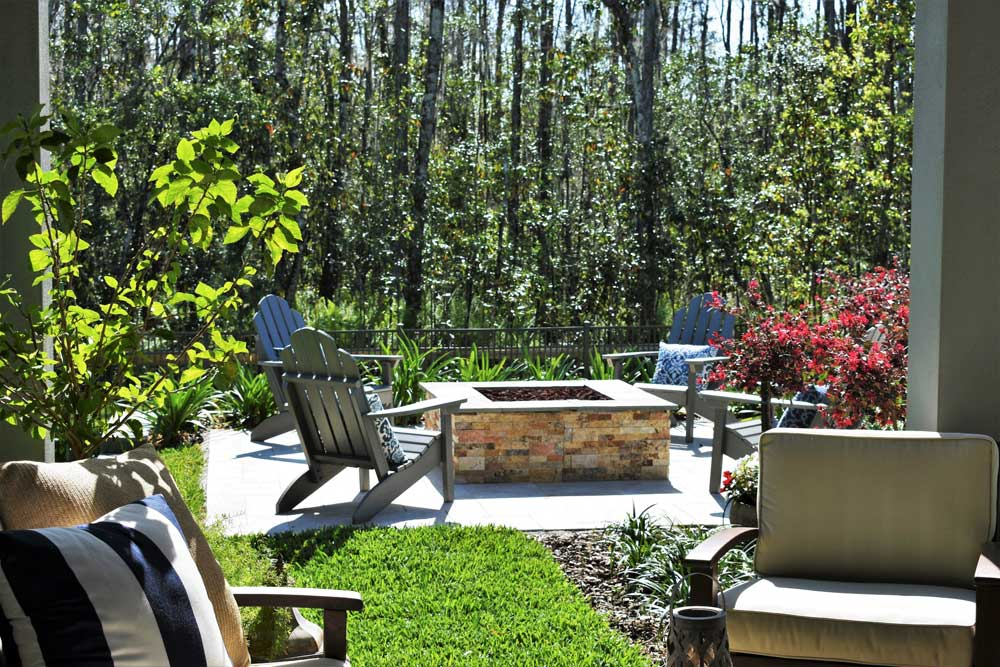 Central Florida Backyard Rooms The Landscape Renovator